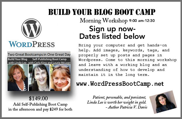Blogging Bootcamp WordPress