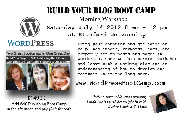Blogging and Publishing Bootcamps